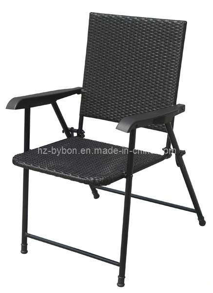 China Resin Wicker Folding Bistro Chair C 019 China Folding Chair Wicker