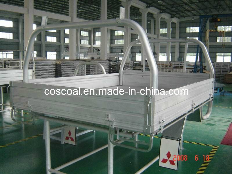 Aluminium/Aluminum Pickup Tray Body