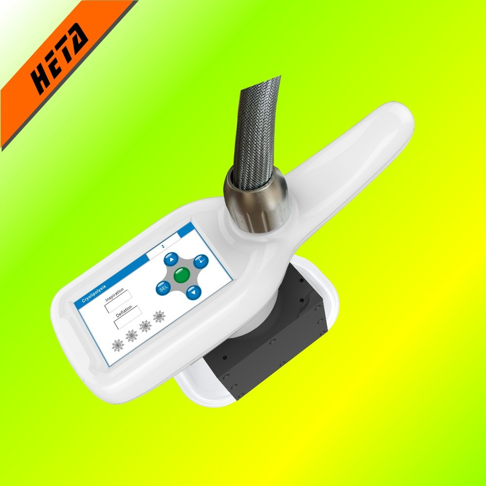 1 Cryo Head 5 Cavitation RF Head Fat Burning Beauty Machine H-3009