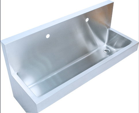 China Large Washing Trough, Stainless Steel Sink, Wallmount (Q70X45X63)    China Washing Trough, Stainless Steel Trough