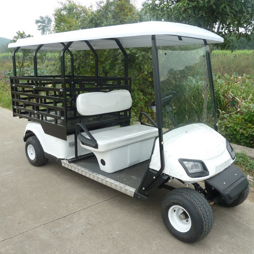 CE Approved 2 Seat Electrical Food Karts (JD-GE502D)
