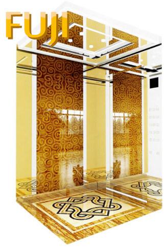 The Prettiest Passenger Elevator/ Lift of Rose Gold