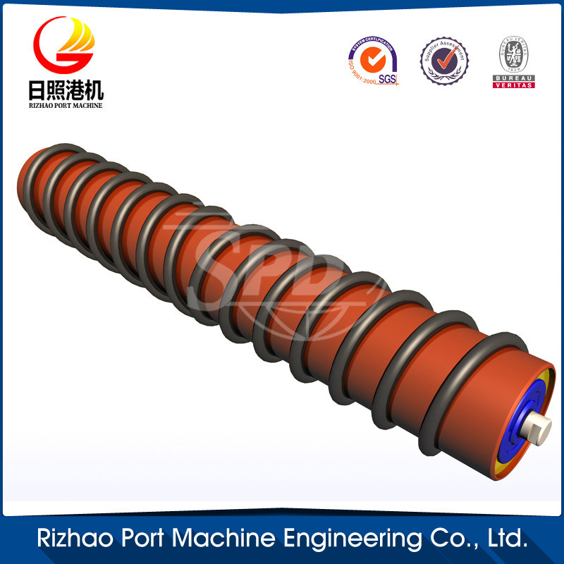 SPD Jsr Conveyor Return Roller, Spiral Return Roller