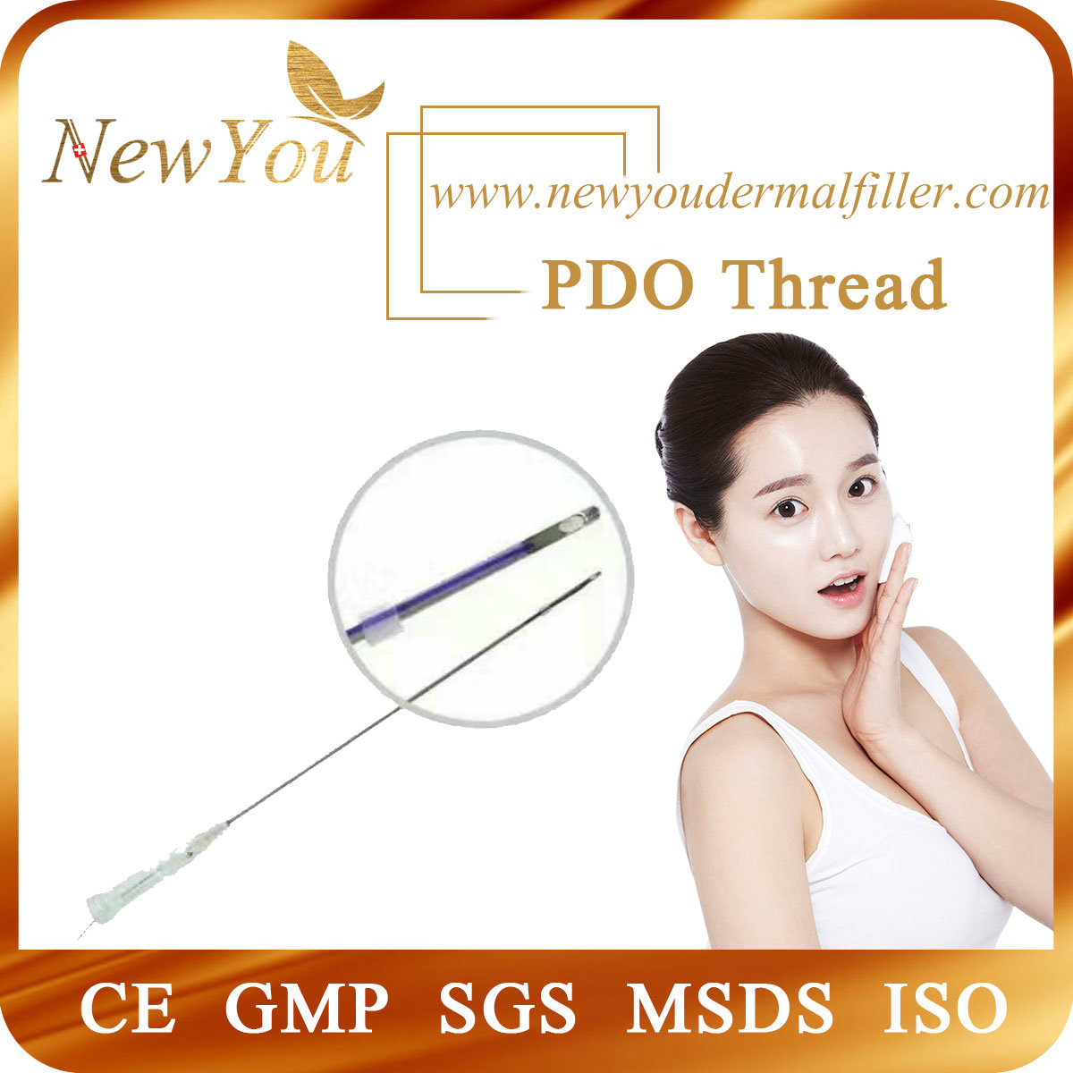 Polydioxanone Suture Monofilament Pdo Thread Needle