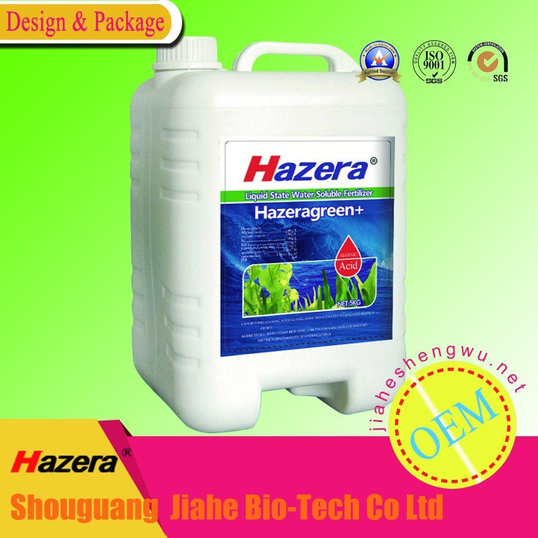Seaweed Liquid Organic Vegetable Fertilizer for Irrigation, Foliage Spray