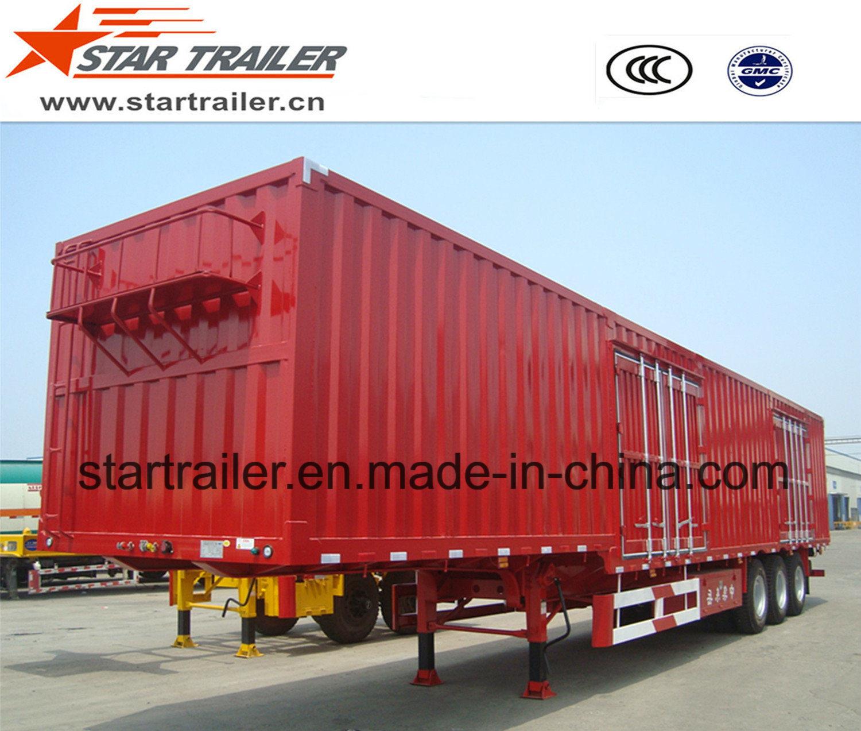 3 Axles Van Type Cargo Trailer