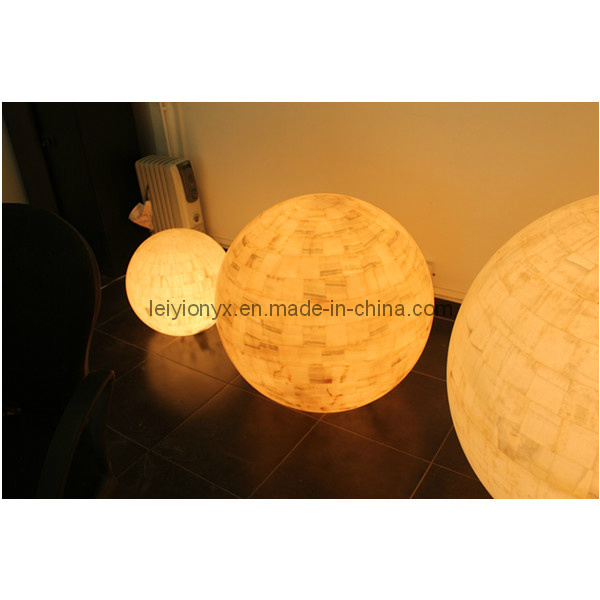 Natural Onyx Crafts Ball Lamps Stone Carving & Sculpture