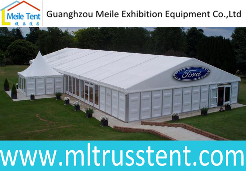 Aluminum Frame ABS Wall and Glass Wall Car Exhibition and Promotion Tent