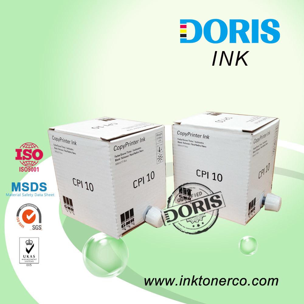 CPI 10 Ink for Ricoh & Gestetner Duplicator