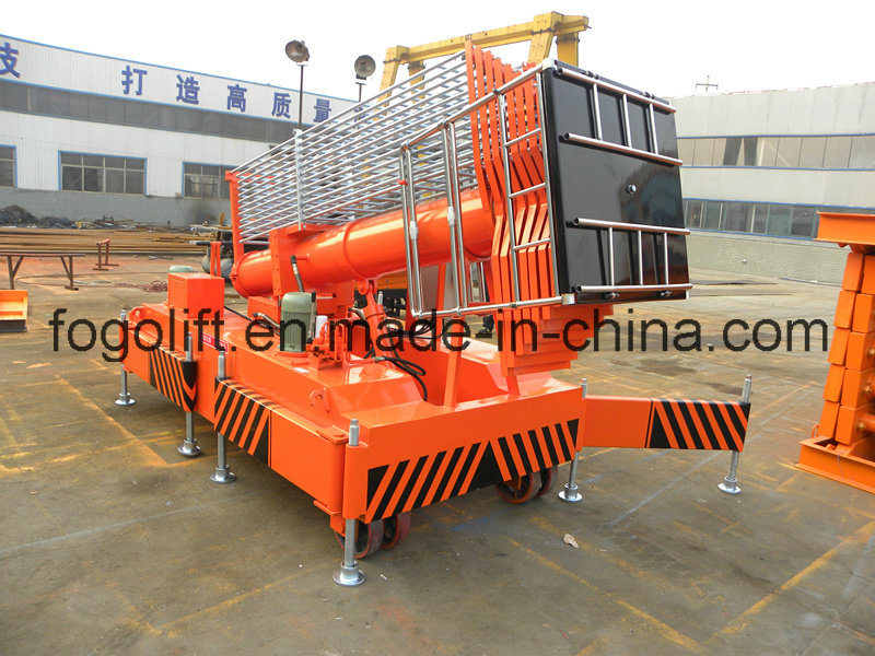 20 Meters Tiltable Electric Telescopic Hydraulic Platform Lift