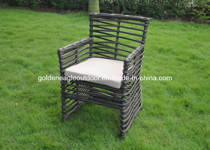 Hospitality Rattan 7 Piece Sqaure Woven Patio Dining Chair
