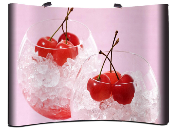 Spring Pop up Advertising Display Stand (DW-PU 3*3/2*3/4*3/8*3)