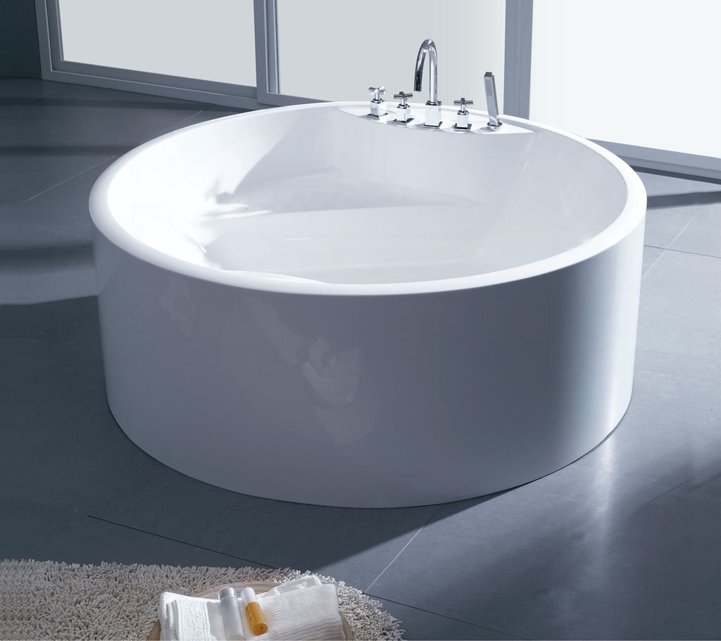 China One Piece Acrylic Bathtub UK 520 China Bathtub Sanitary Ware