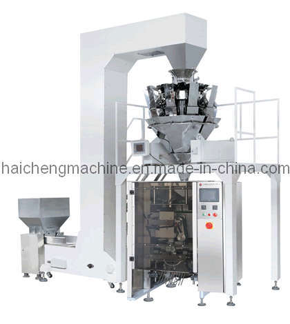 Vertical Form Fill Seal Machine with Weigher Measuring System