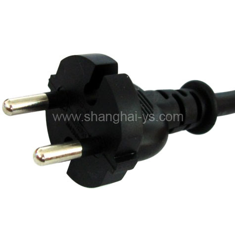Certificated Power Cord Plug for Germany and European Countries (YS-2)