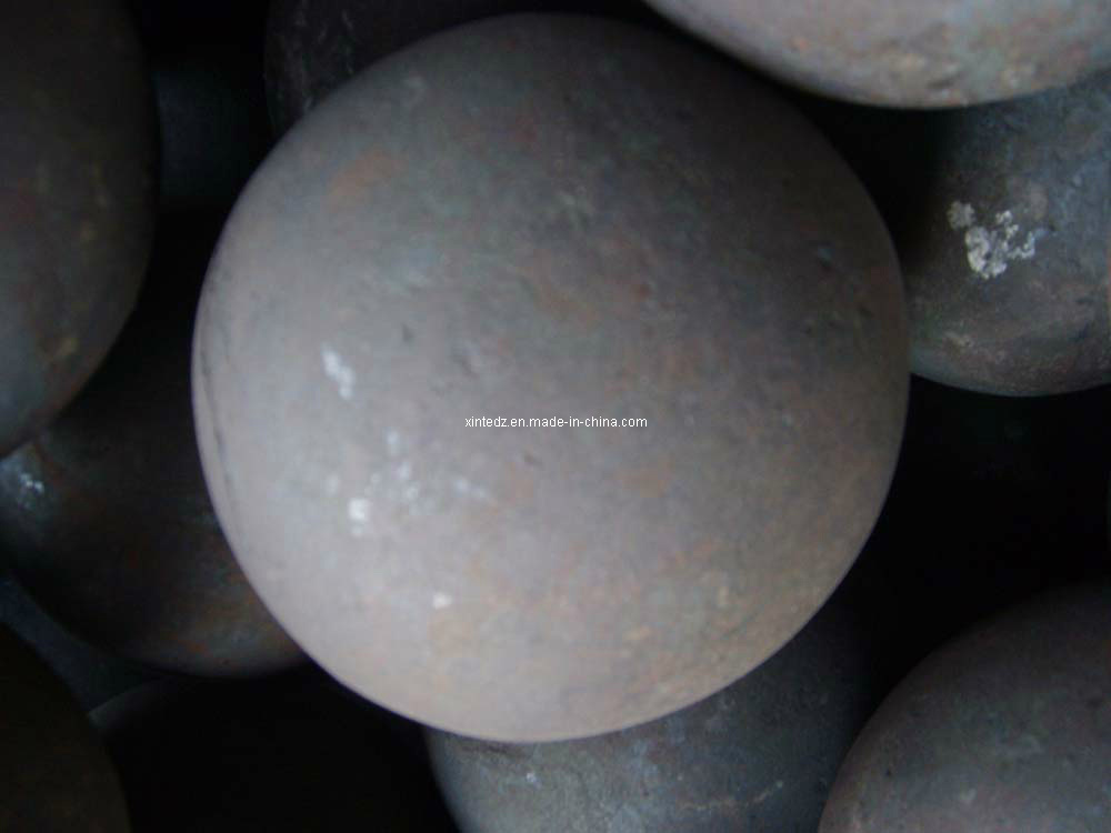 Grinding Steel Ball (60mn Material Dia35mm forged ball)