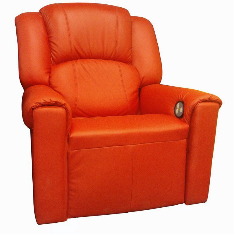 Cinema Seat Real Leather Electric Reclining Theatre Sofa Cinema Chair (VIP 2)
