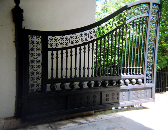 Wrought Iron Gate on interior design pany