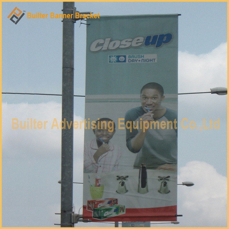 Outdoor Advertising Street Pole Sign (BT-SB-004)