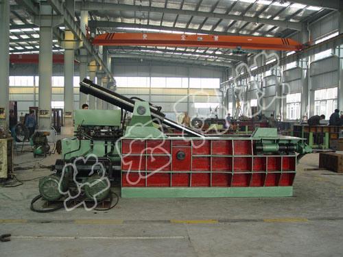 Hydraulic Scrap Metal Baler Machine