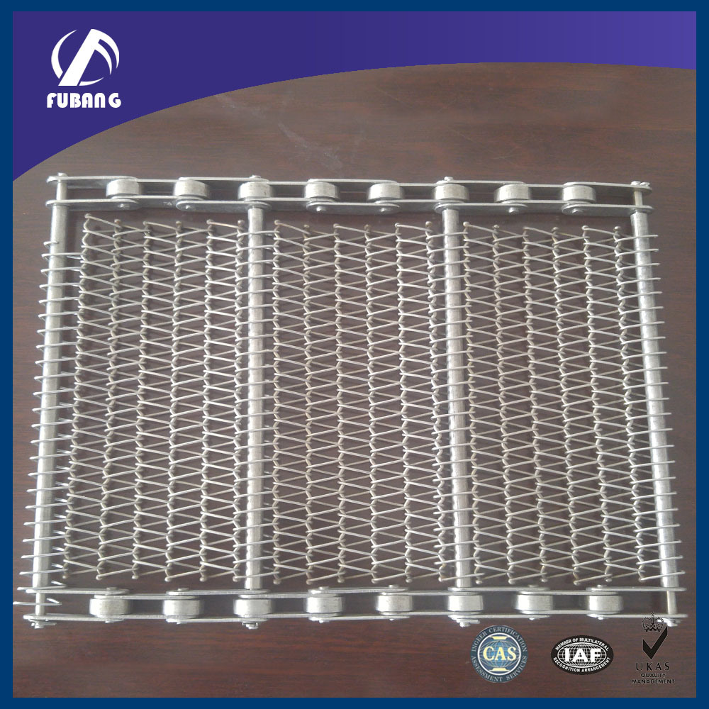 Stainless Steel Wire Mesh Belt / Chain Conveyor Belt
