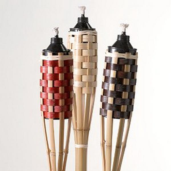 Backyard Bargain Tiki Torches : Tiki Torches for Pinterest