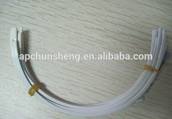 White Coated Bra Metal Wire