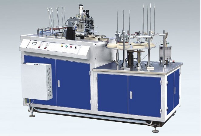 Full Automatic Paper Cup Corrugated Sleeve Forming Wrapping Machine