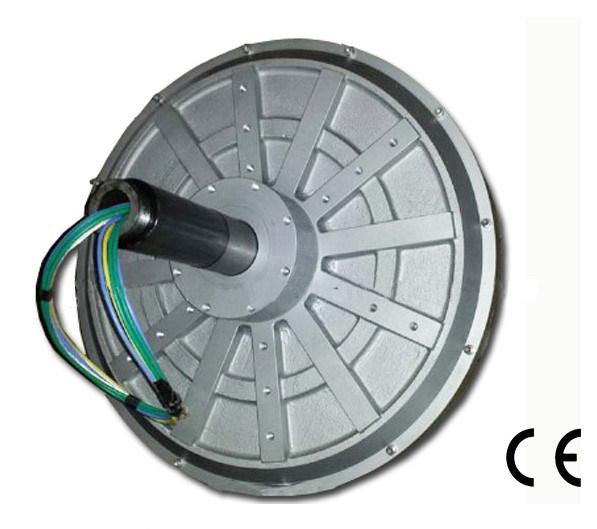 Hydro Turbine/Axial Fux Permanent Magnet Generator