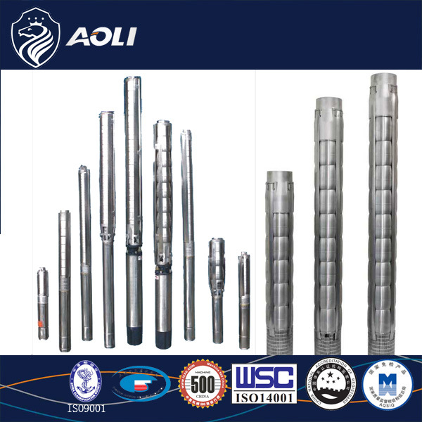 6 Inch Sj Series Stainless Steel Deep Well Submersible Pump