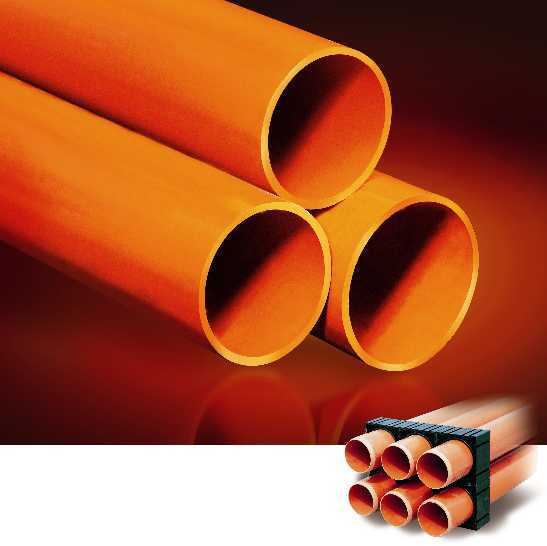 Plastic Pipe - PVC Pipe & Fittings for High / Low Voltage Underground Cables