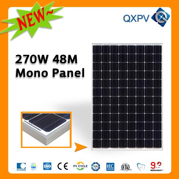 48V 270W Mono Solar Panel (SL270TU-48M)