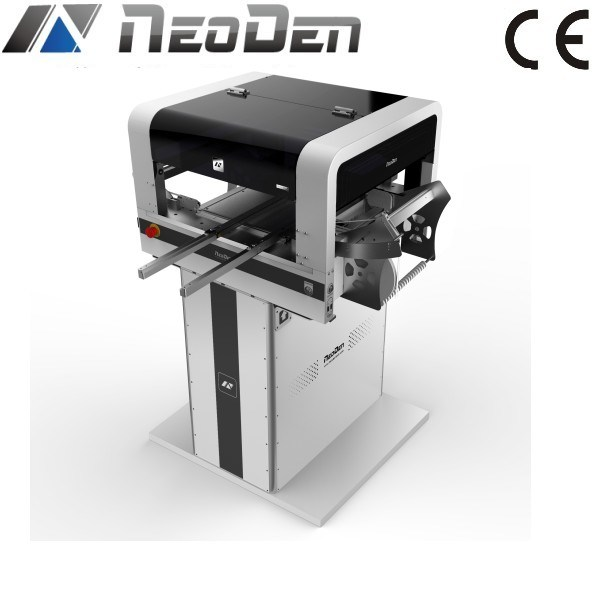 Neoden 4 SMT Pick and Place Machine with Conveyor for 1.2m Long LED PCB Placement