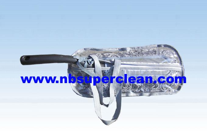 PVC Zipper Bag Packing Cotton Yarn Decia Duster (CN1115)