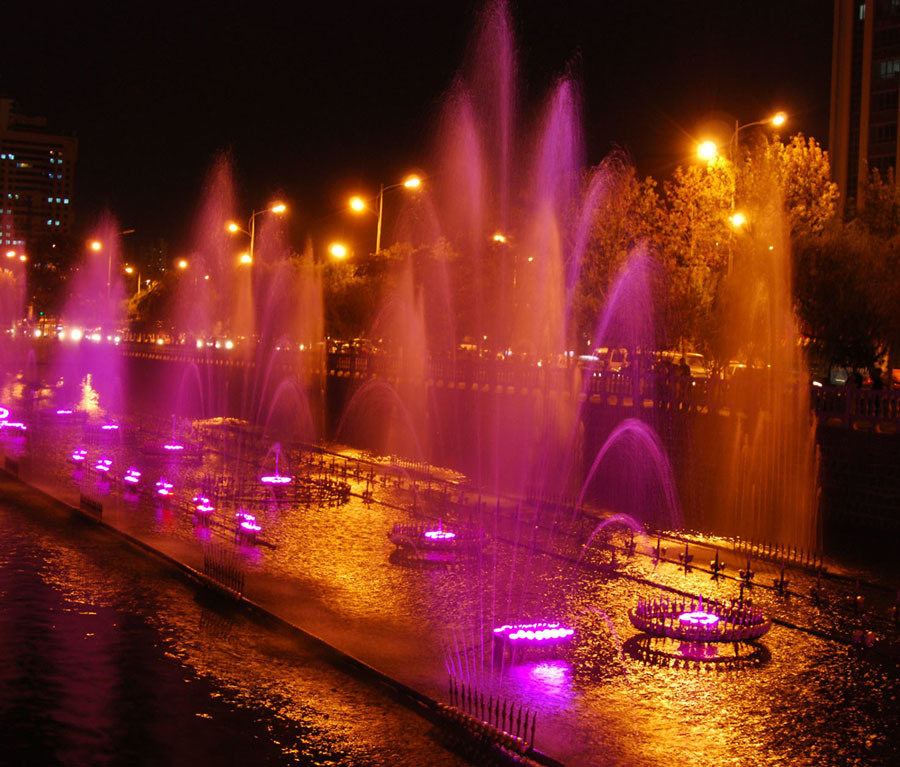 Musical Fountain (DESIGN)