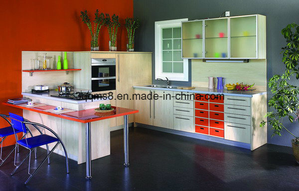 Guanjia Kitchen MDF Laminated Kitchen Island Cabinets Kc-070