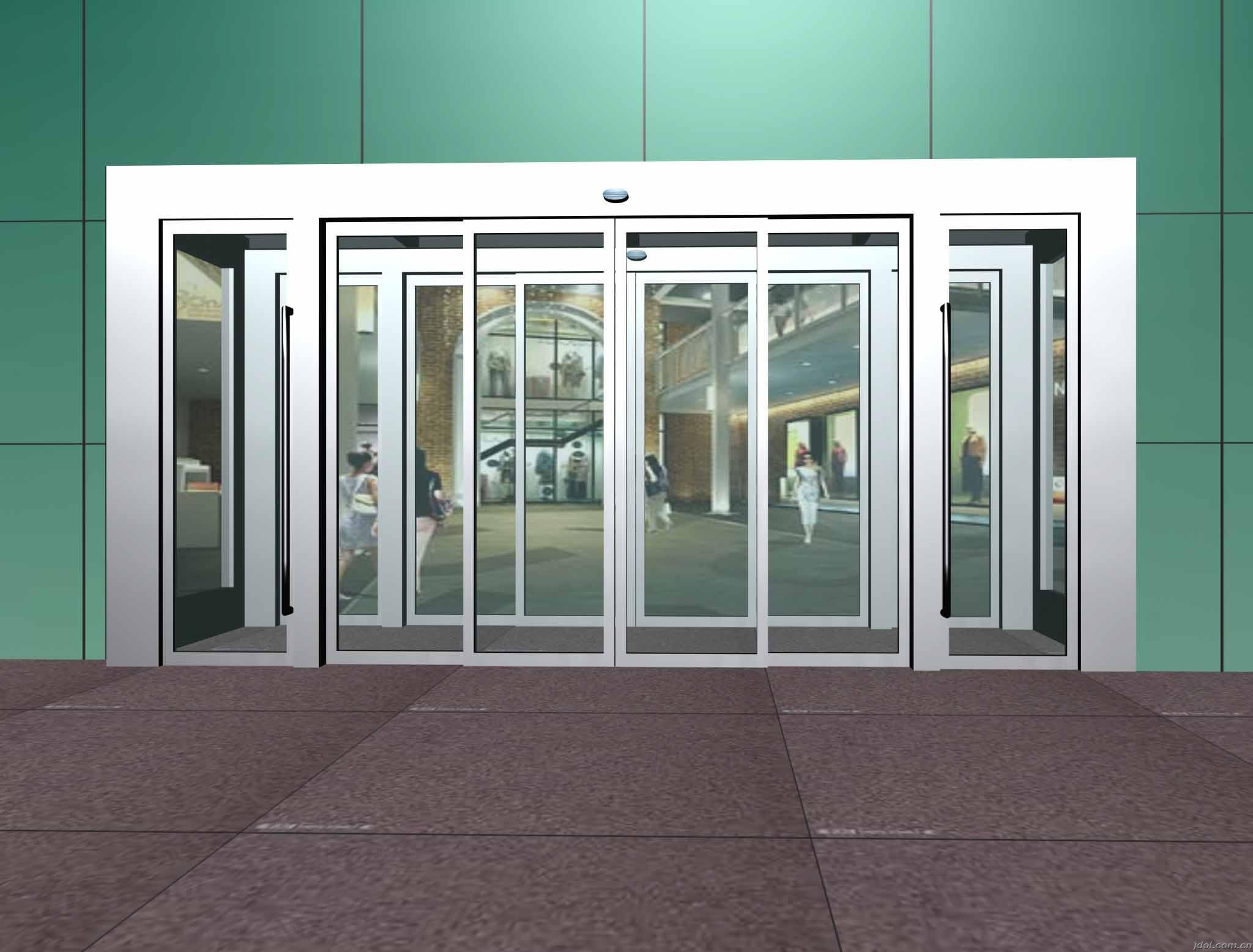 China mbs series commercial type automatic sliding door