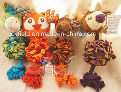 X′mas Rope Dog Toy Pet Plush Dog Product