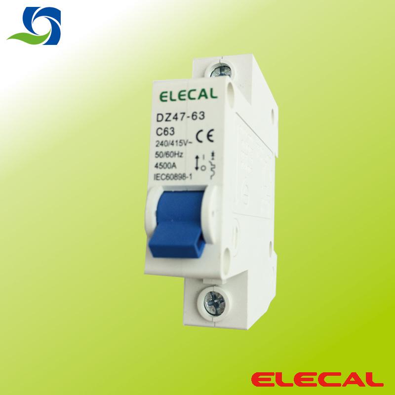 Mini Circuit Breaker (DZ47-63 1P)