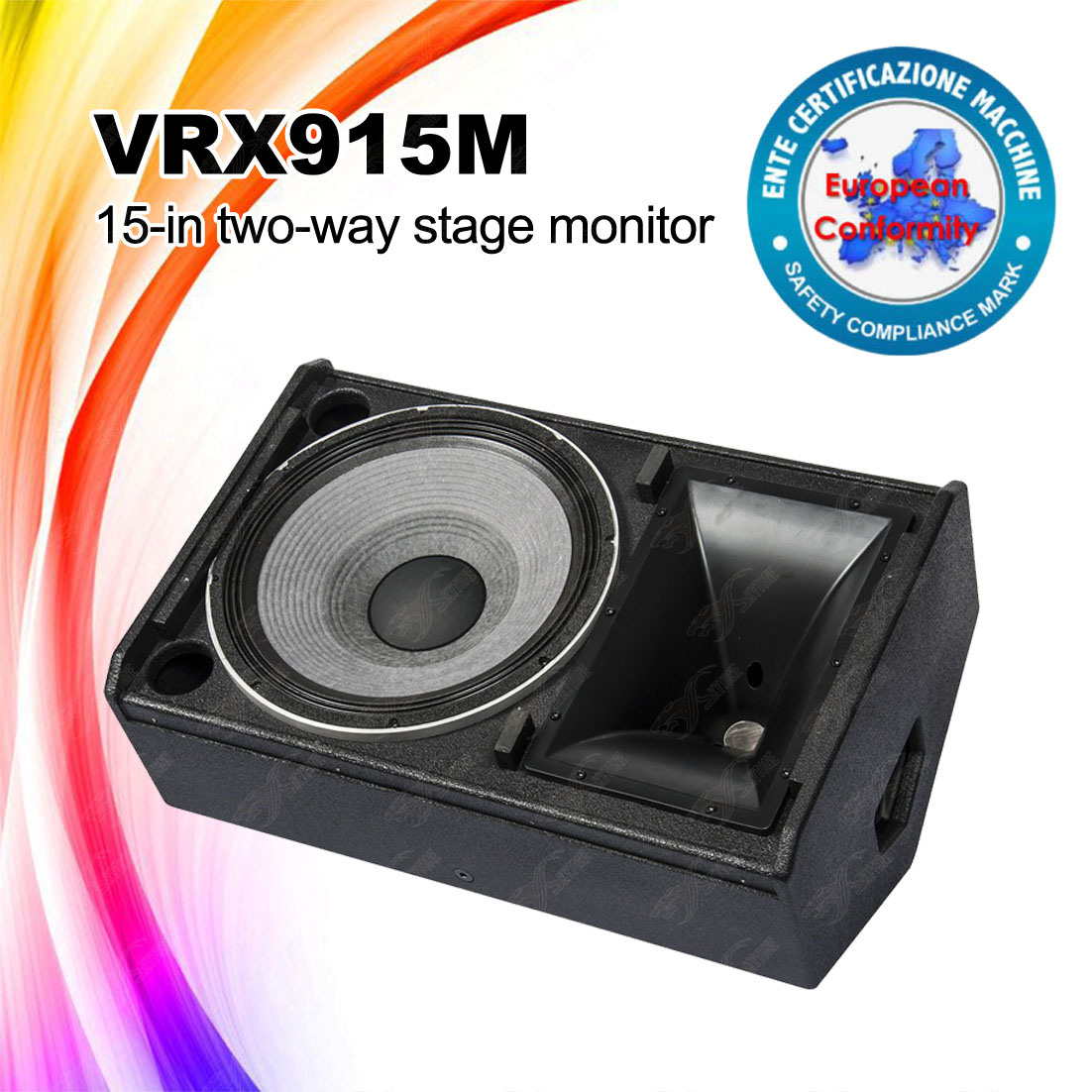 15 Inch Vrx915m 8ohms Professional Stage Monitor Speaker Box
