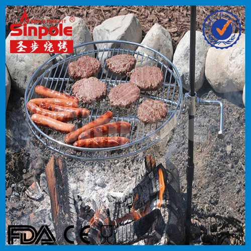 Stainless Steel Portable BBQ Grill with Ce/FDA Approved (SP-CGS09)