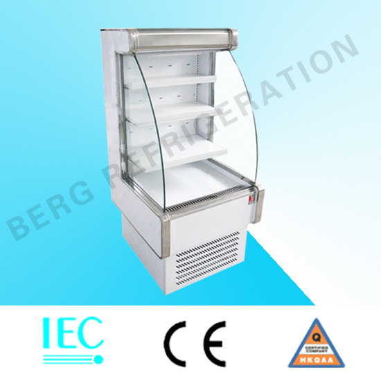 Open Refrigerator Display Case for Drink and Beverage