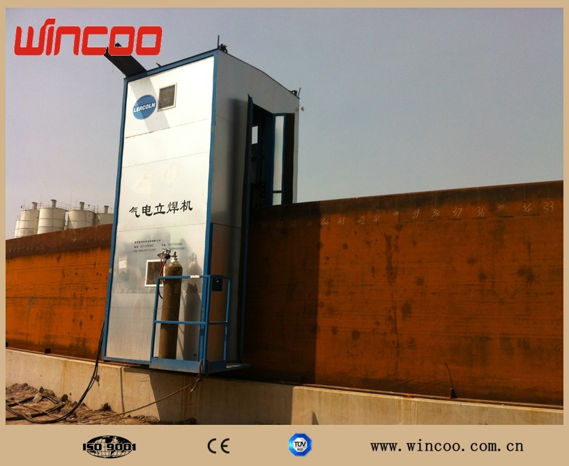 Automatic Electro-Gas Vertical Welding Machine for Tank (EGW)