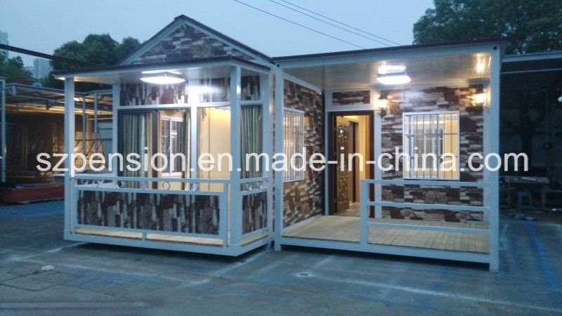 Expert Supplier Low Pay Mobile Prefabricated/Prefab Holiday House/Villa for Hot Sale