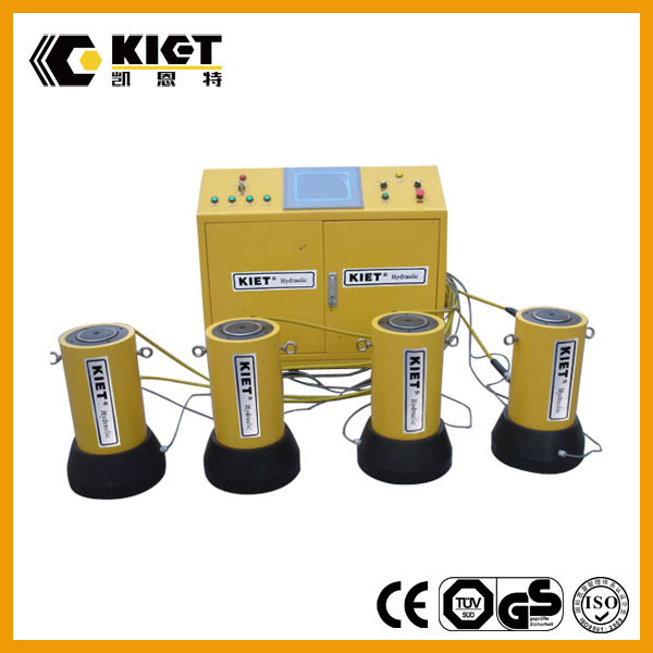PLC Synchronous Hydraulic Lifting System