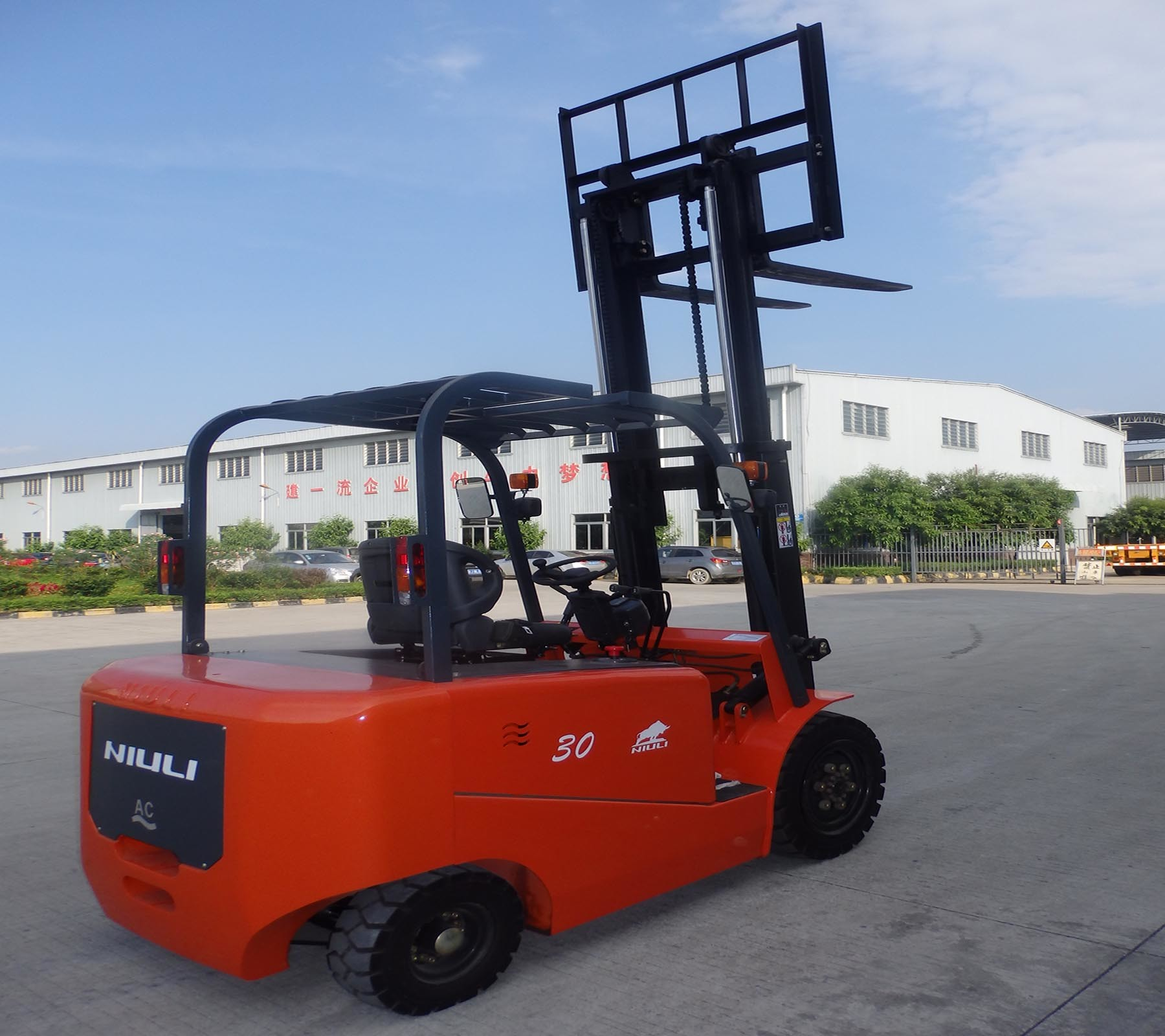 Niuli Eletric Forklift Truck Popular All Over The World