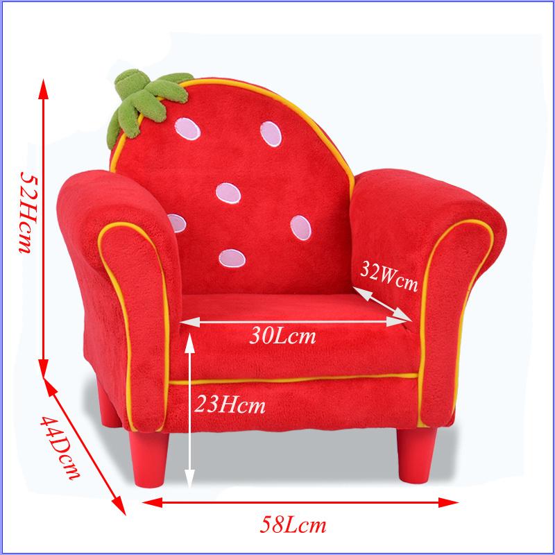 Fantasy Strawberry Fabric Children Chair (SF-261)