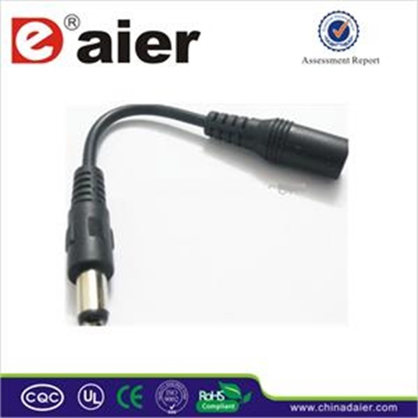 2.1mm Extension Male-Female Adapter DC Plug