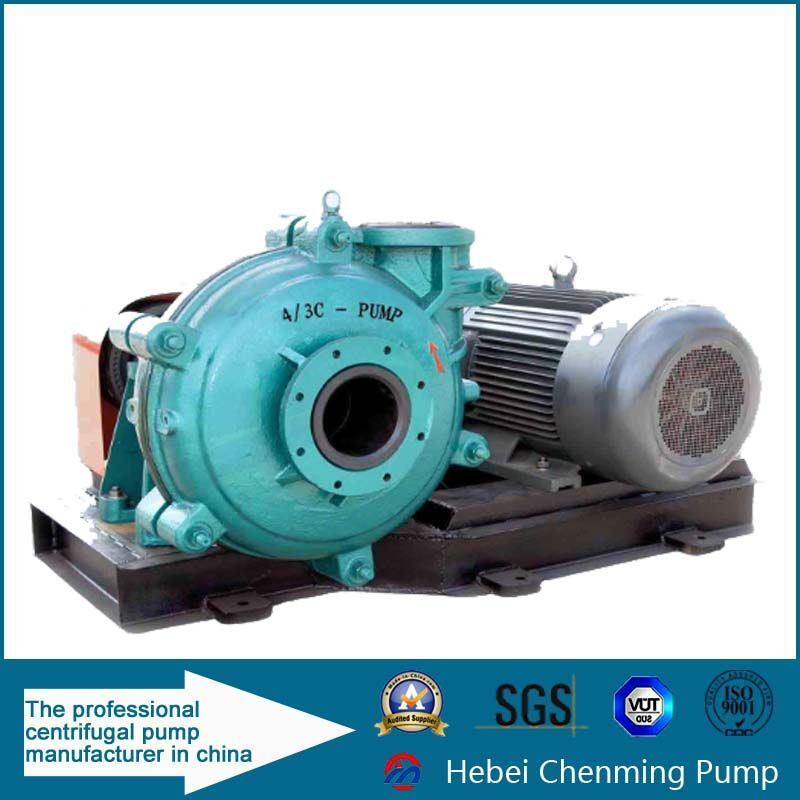 Electrical Industrial Sand River Gravel Suctin Slurry Pump Machine