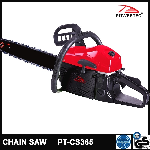 Powertec CE GS Easy Start 58cc Gasoline Chain Saw (PT-CS365)